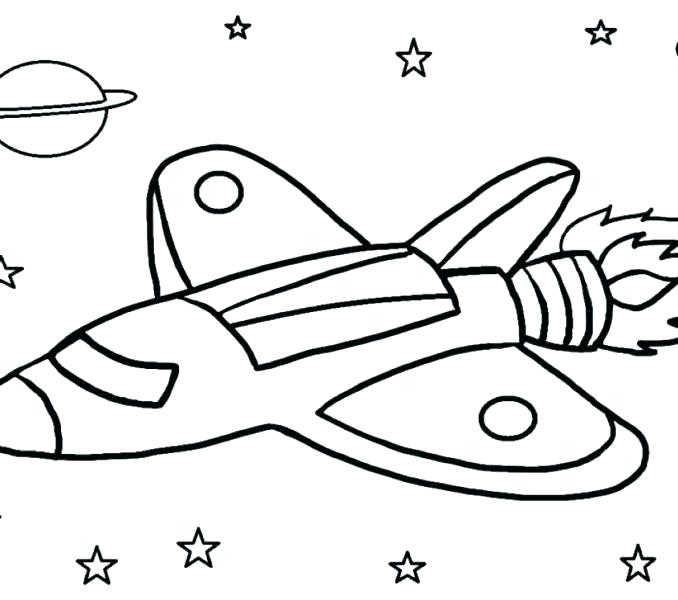 678x600 Spaceship Coloring Page Spaceship Colouring Pages Rocket Colouring