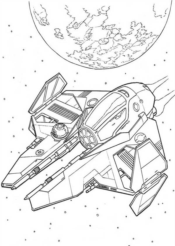 600x840 Spaceship Coloring Pages To Download And Print For Free
