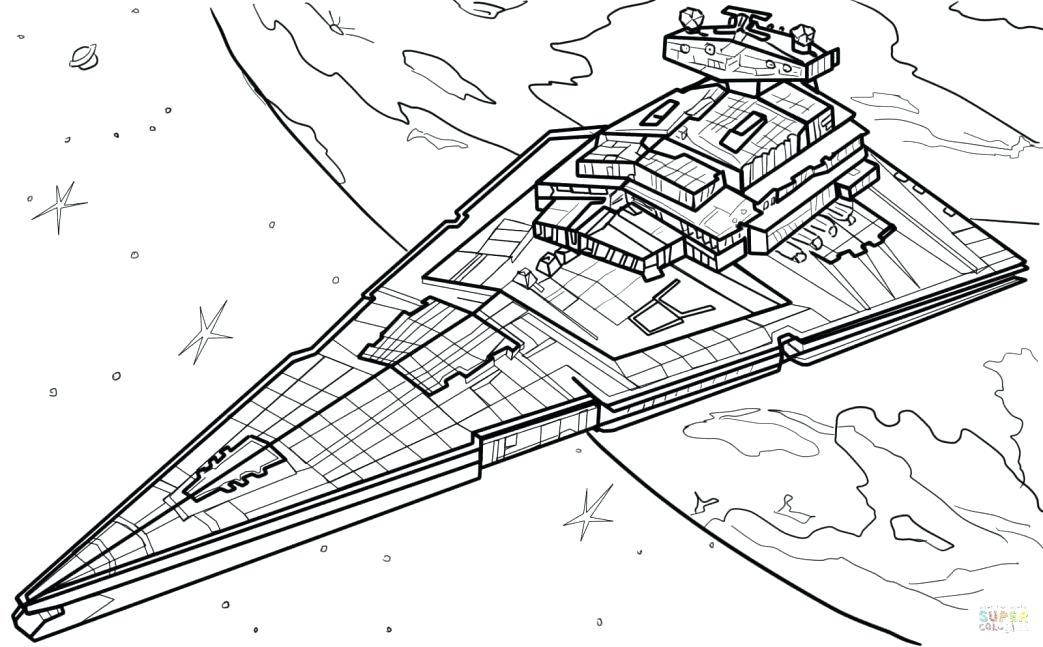 1043x647 Spaceship Coloring Pages