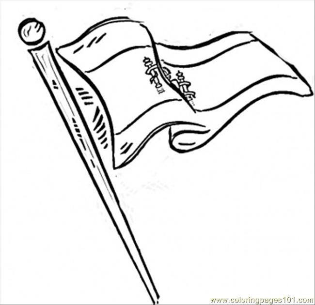 650x630 Flag Of Spain Coloring Page