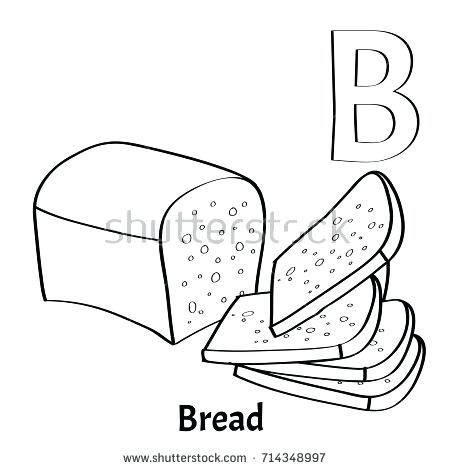 450x470 Letter B Coloring Pages Vector Alphabet Letter B Coloring Page