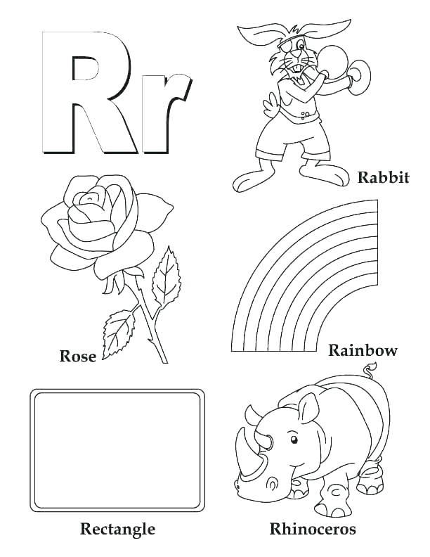612x792 Alphabet Coloring Pages Printable Alphabet Color Pages Alphabet