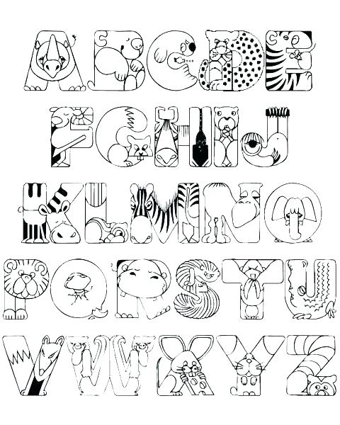 480x600 Spanish Alphabet Coloring Pages Alphabet Coloring Pages Photos
