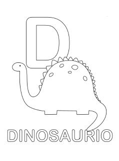 238x320 Spanish Alphabet Coloring Page D Coloring Pages For Little Man