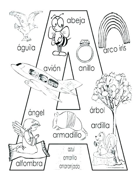 480x621 Coloring Pages In Spanish Free Coloring Pages Spanish Colors