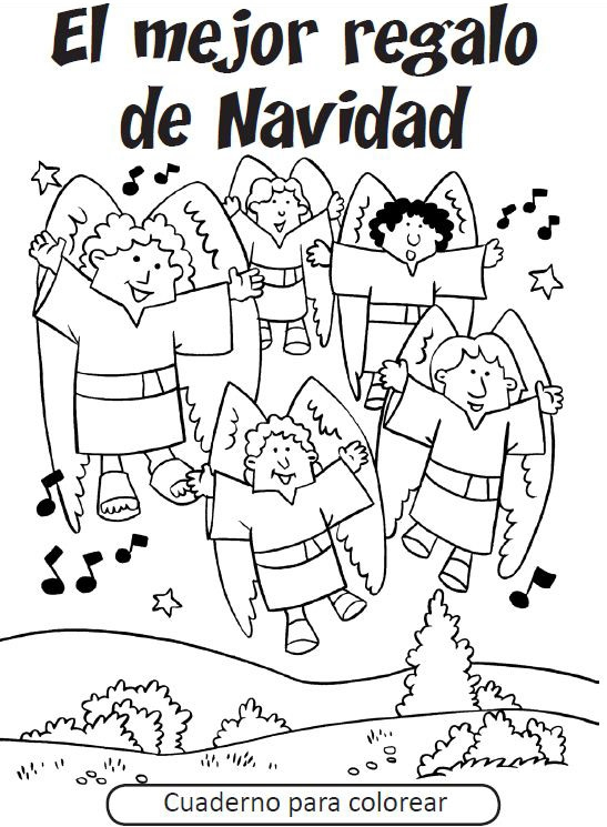547x745 Spanish Christmas Coloring Pages Christmas Coloring Sheets