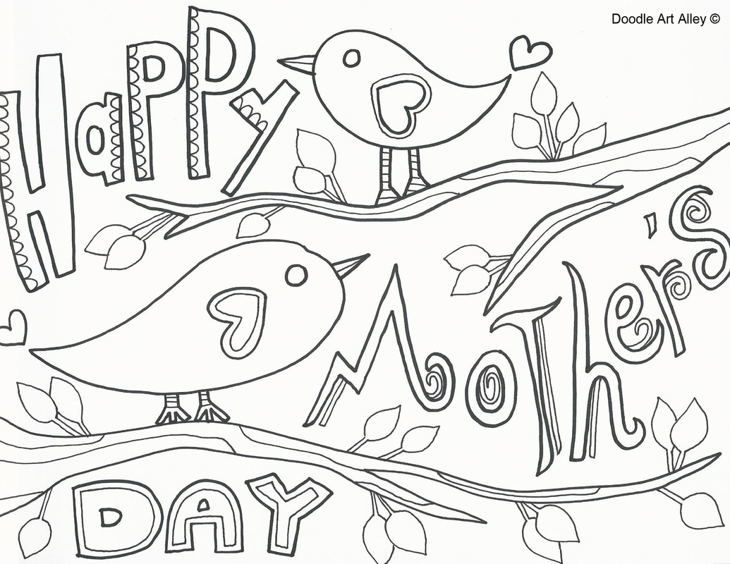 1035x800 Profitable Mothers Day Coloring Pages In Spani