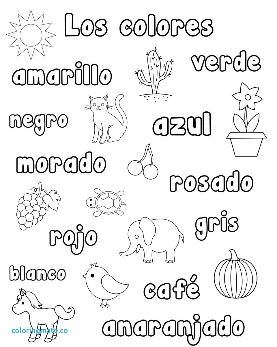 960x1200 Coloring Pages In Spanish