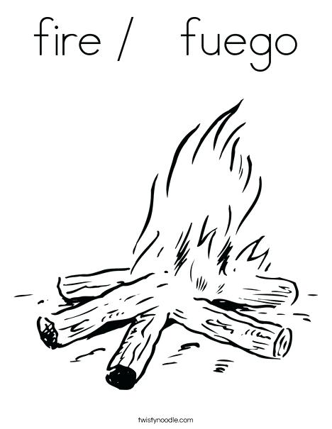 468x605 Fire Coloring Pages Fire Coloring Pages Sparky Fire Safety