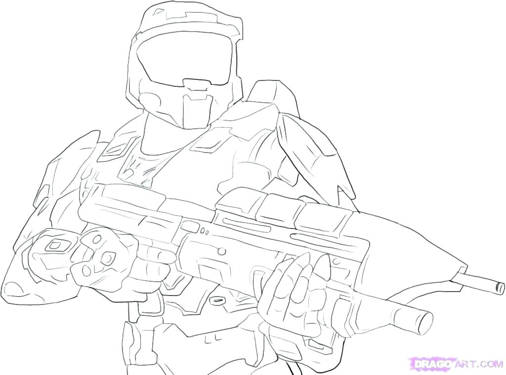 1024x760 Master Chief Coloring Pages Related Post Master Chief Colouring