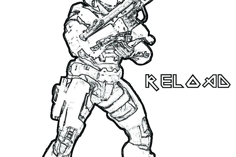 816x544 Halo Coloring Page Halo Coloring Pages Halo Spartan Coloring