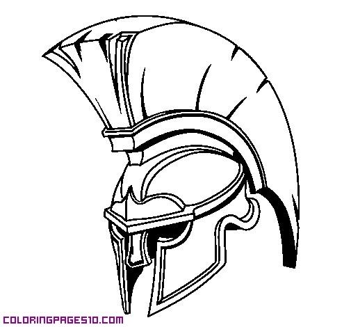 505x470 Spartan Helmet