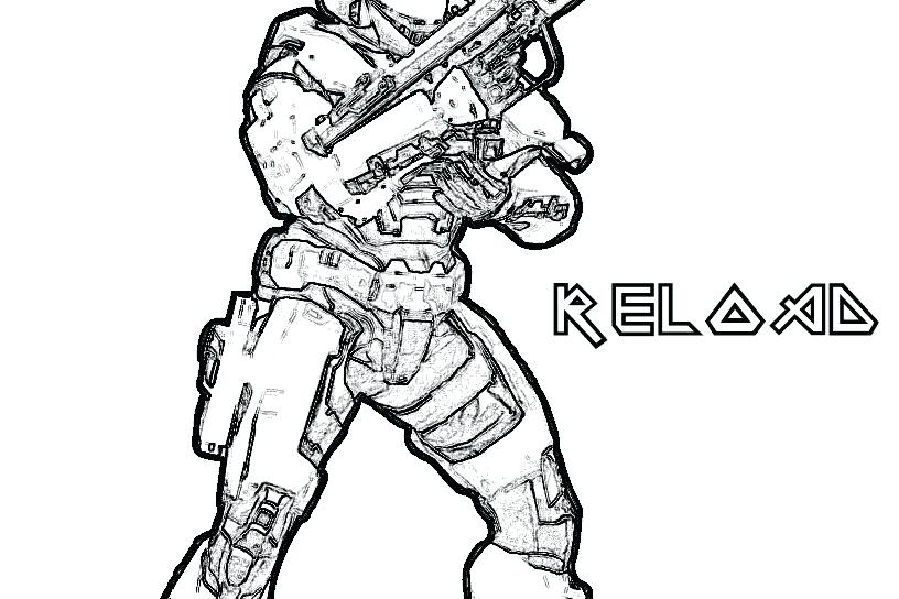 816x544 Halo Coloring Page For Kids Carter Helmet Halo Spartan Coloring