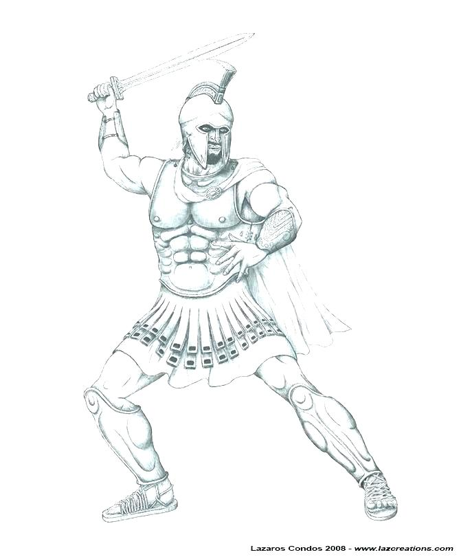671x813 Coloring Pages Of People Halo Spartan Color Pri