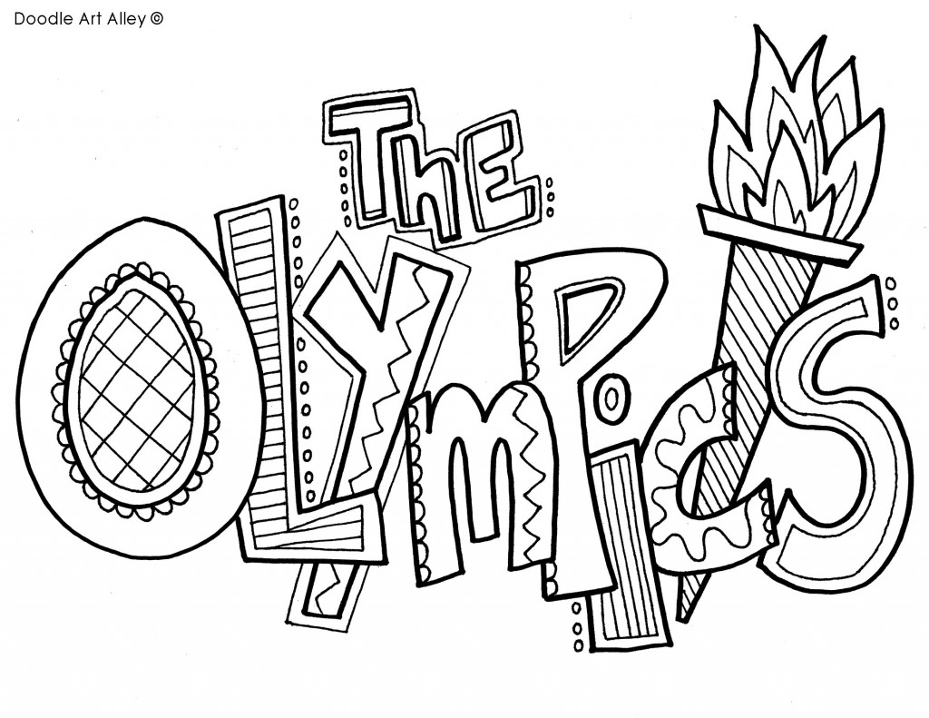 Special Olympics Coloring Pages at GetDrawings com   Free