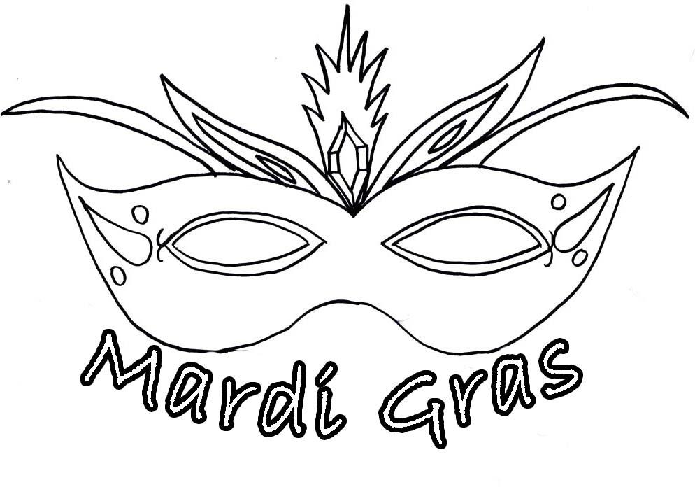994x706 Mardi Gras Masks Coloring Pages Pretty Design Mardi Gras Outline