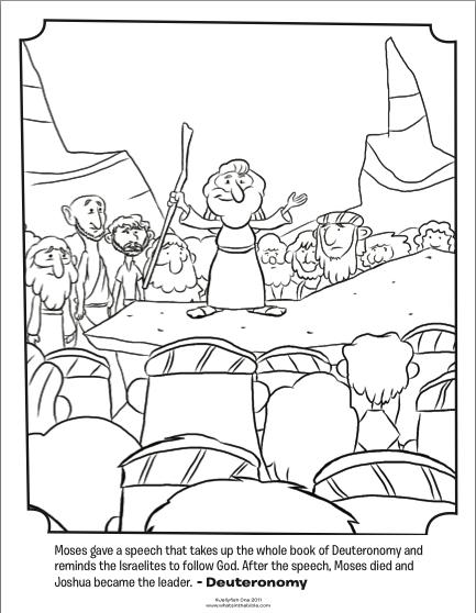 433x558 Moses Giving A Speech