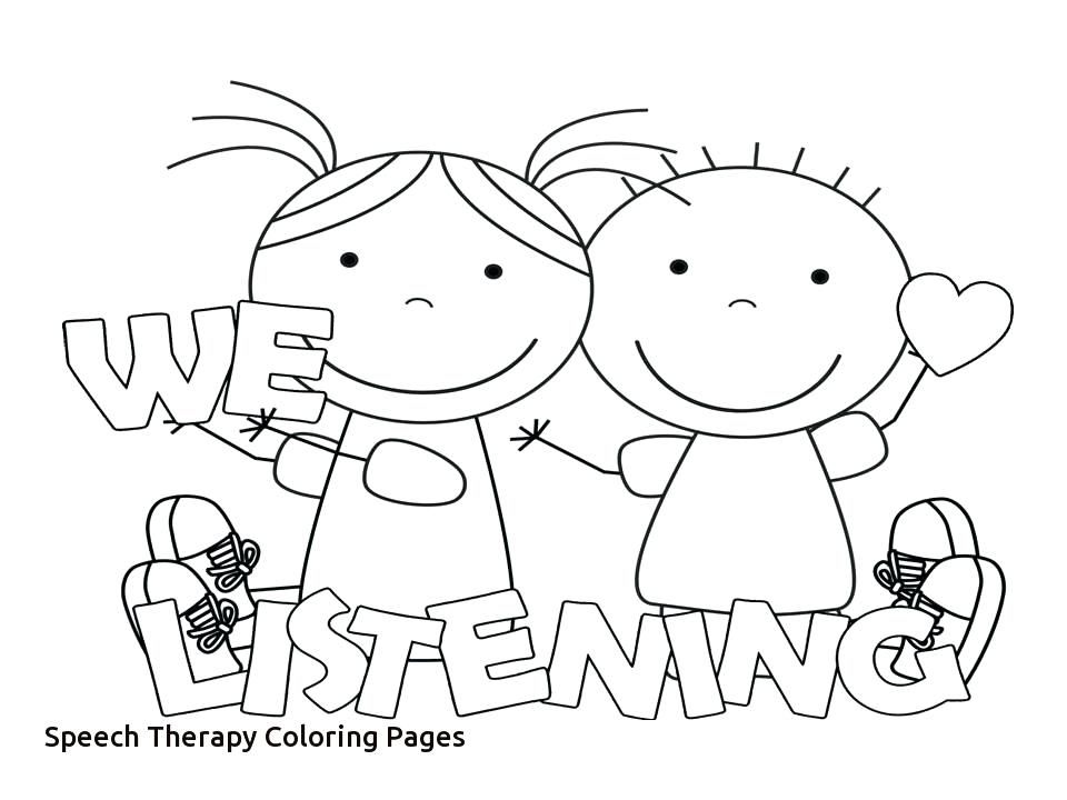 960x720 Speech Coloring Pages Therapy Coloring Pages Page Therapeutic