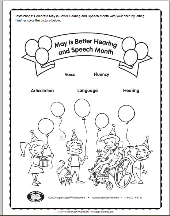 555x704 Better Hearing Speech Coloring Sheet Bhsm Better Hearing