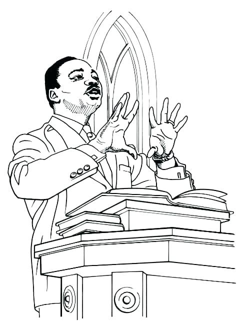 504x644 Coloring Pages Of Martin Luther King Jr I Have A Dream Speech