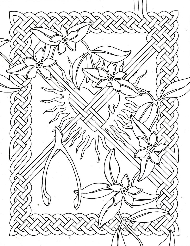 791x1024 Love Spell Coloring Page Visual Inspiration