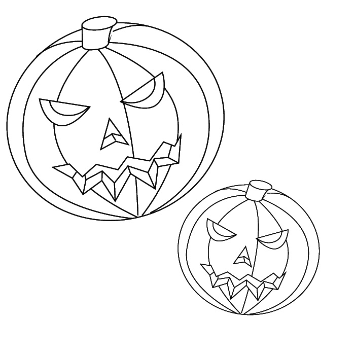 700x700 Free Printable Pumpkin Coloring Pages For Kids