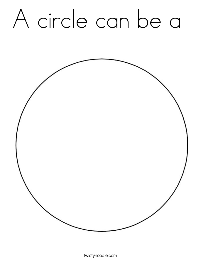 685x886 A Circle Can Be A Coloring Page