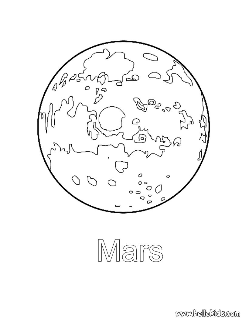 820x1060 Mars Coloring Pages With Wallpapers Wide Pictures