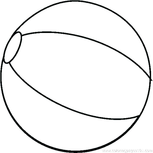 650x650 Sports Balls Coloring Pages Beach Ball Coloring Page Free