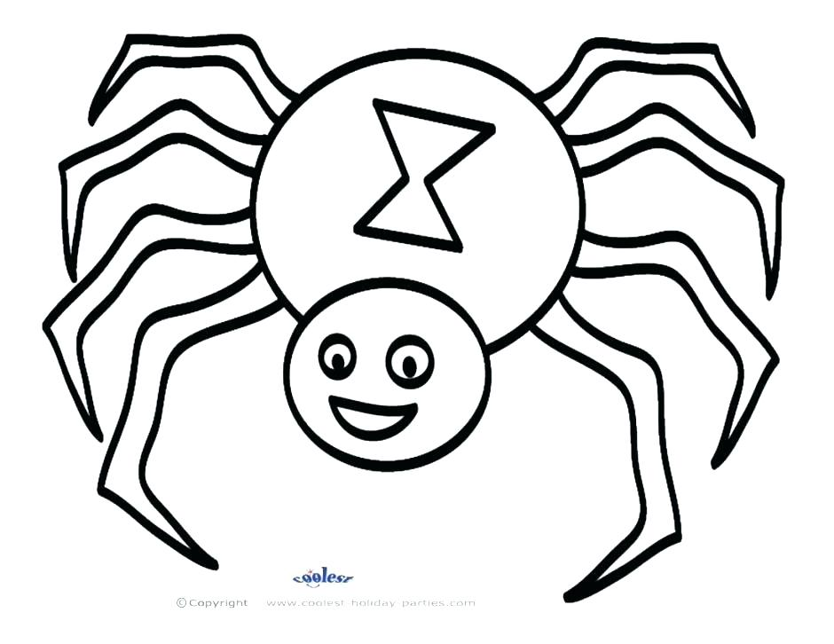 940x726 Spider Web Coloring Page And Spider Coloring Sheet Spider Coloring