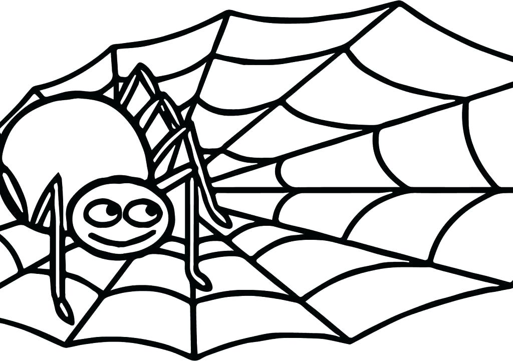 Spider Coloring Pages For Kids at GetDrawings | Free download