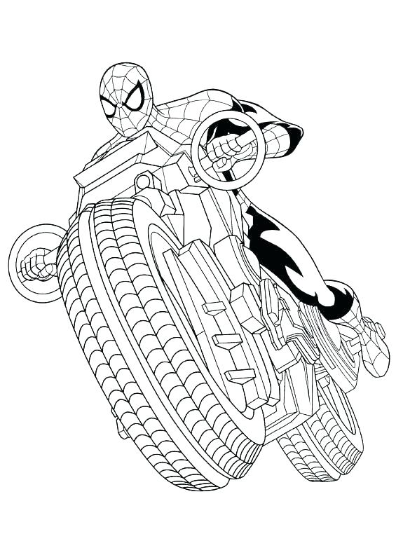 Spider Coloring Pages To Print