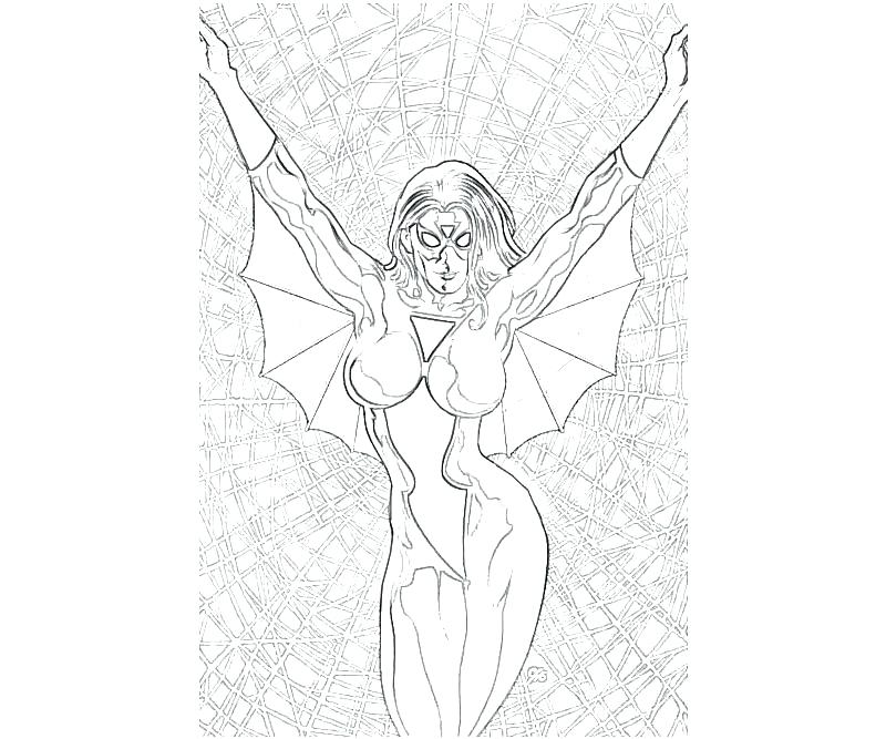 800x667 Spider Girl Coloring Pages Woman Coloring Pages Ingenious Idea