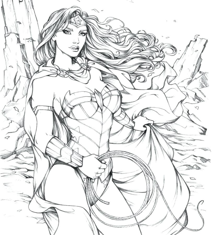 811x900 Spider Girl Coloring Pages Woman Coloring Pages Wonder Woman