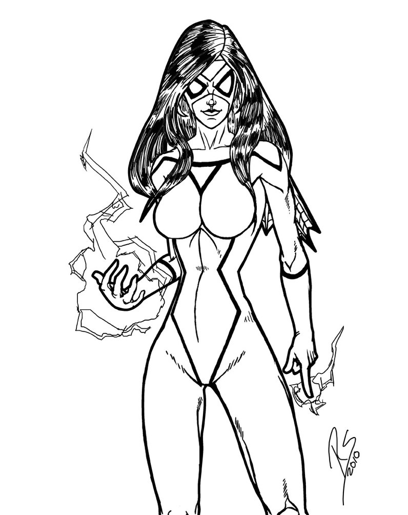 796x1004 Spider Woman Coloring Pages Spider Woman Coloring Pages Coloring