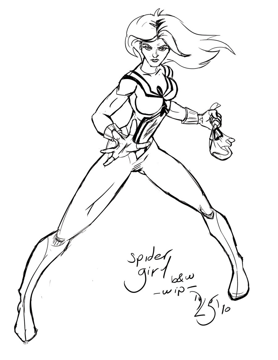 900x1165 Spider Woman Coloring Pages Spider Woman Coloring Pages Spider