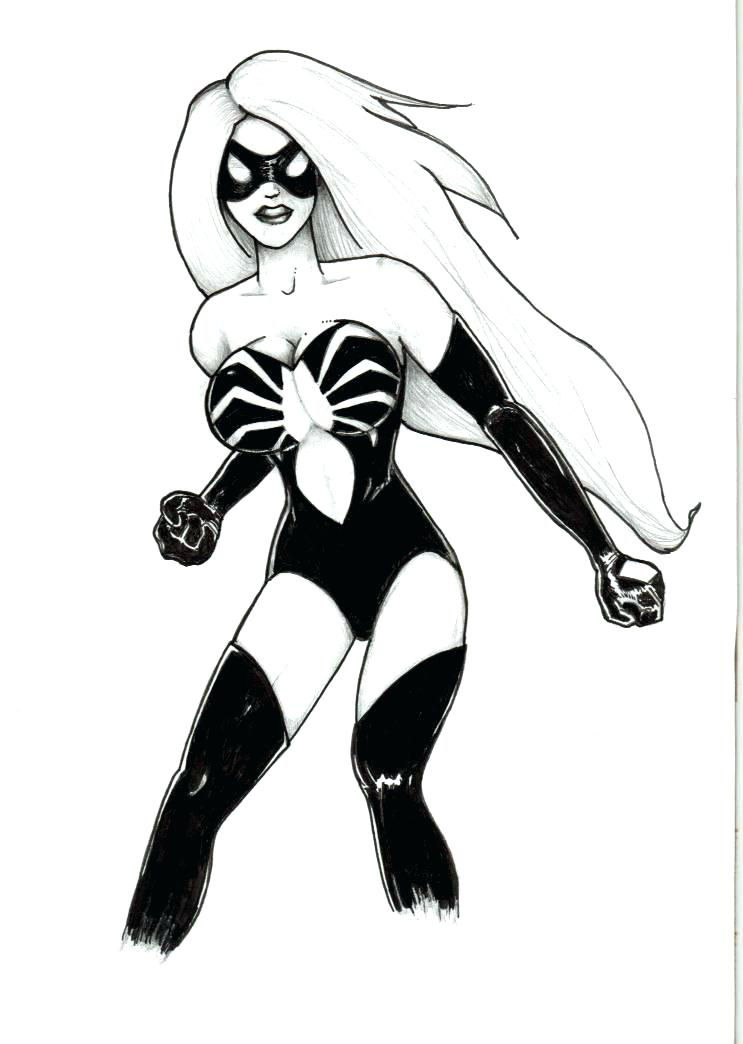743x1044 Spider Woman Colouring Pages Creative Design Wonder Woman Coloring
