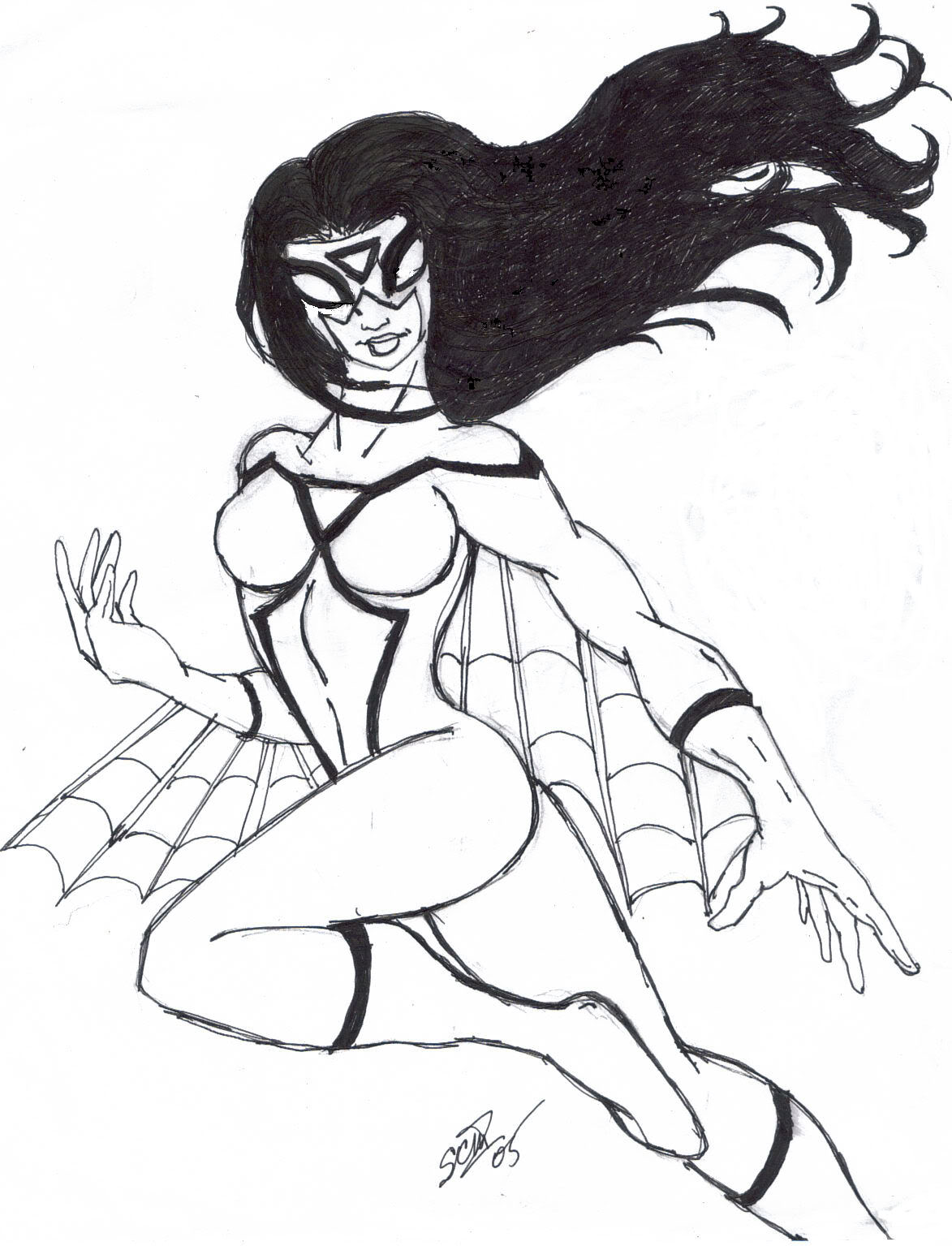 1173x1535 Amazing Spider Woman Superhero Printable Coloring Pages For Kids