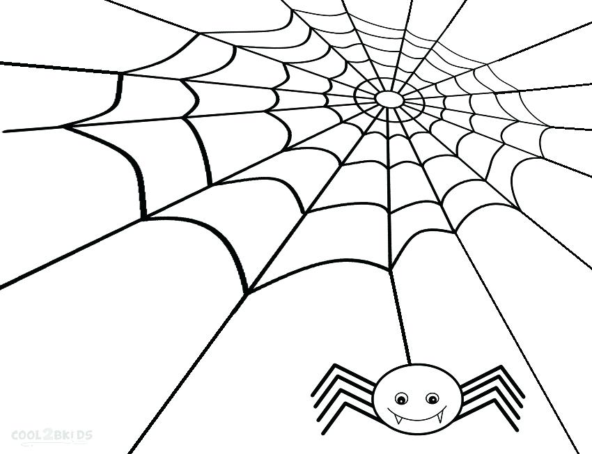 850x652 Fine Spider Web Coloring Page Adornment Ways To Use Coloring Pages