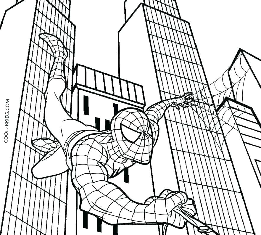 Spider Man 2 Coloring Pages