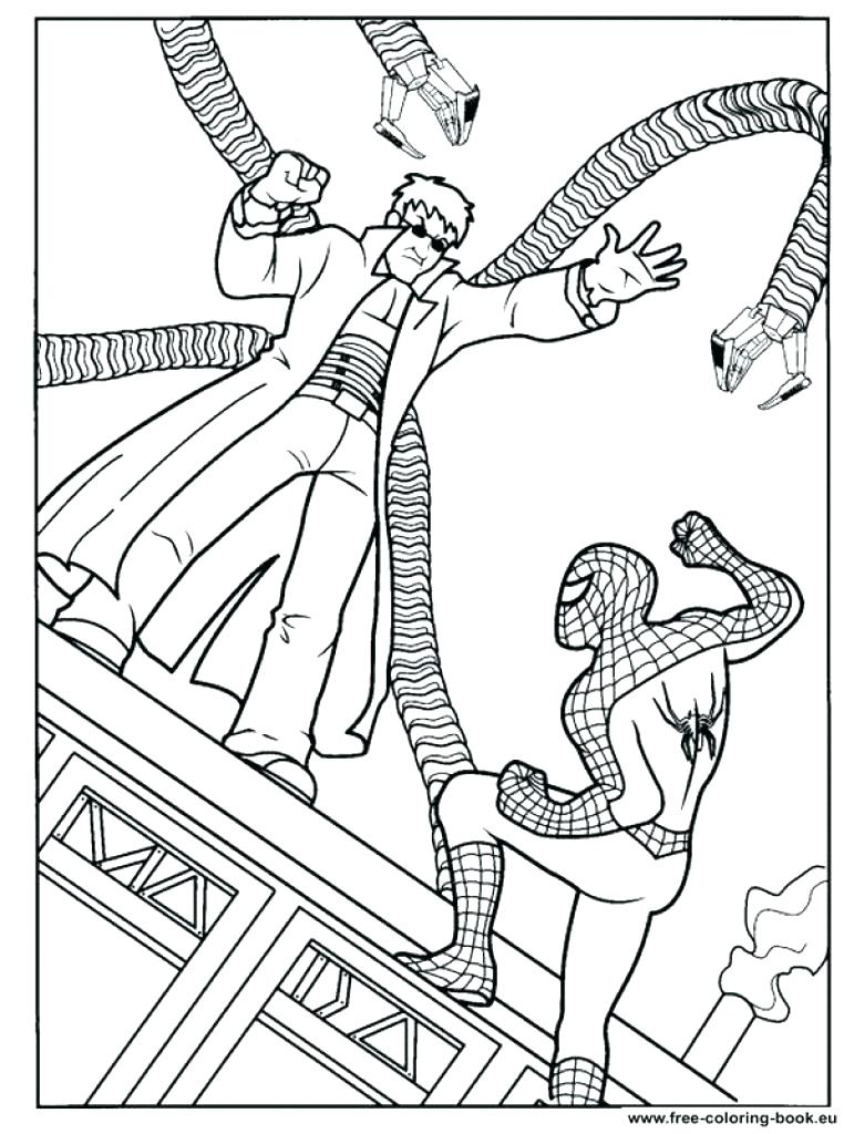 762x1024 Interesting Coloring Page Spider Spider Man Coloring Pages