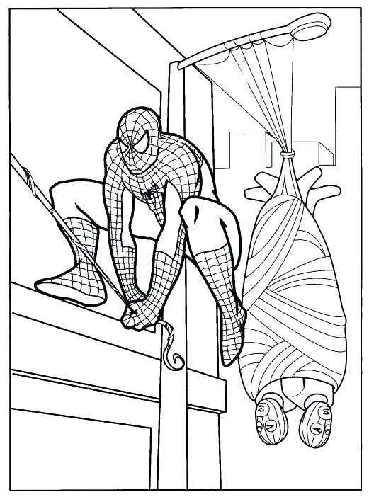 528x702 Spider Man Coloring Pages Free Coloring Pages For Toddlers Best
