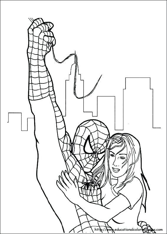 567x794 Amazing Spiderman Coloring Pages Colouring Pages Spider Man
