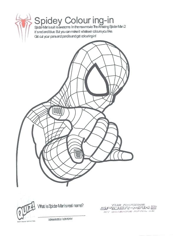 588x800 Spiderman Pictures To Color In Addition To Amazing Spider Man