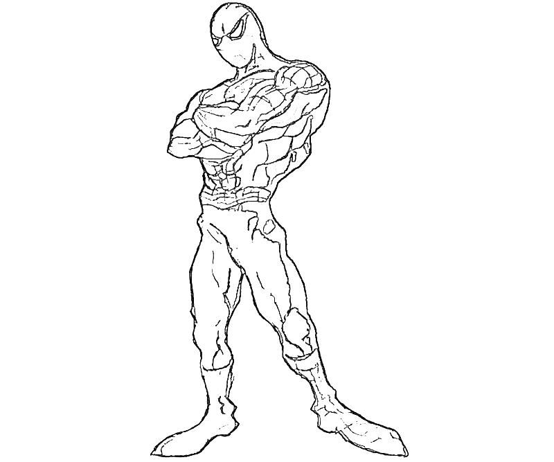 800x667 Spider Man Coloring Pages Coloring Pages For Kids