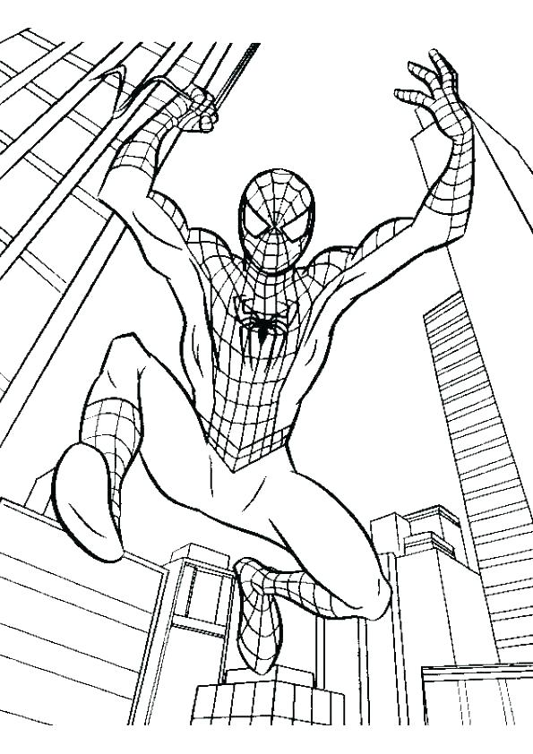 595x842 Spiderman Coloring Games Online