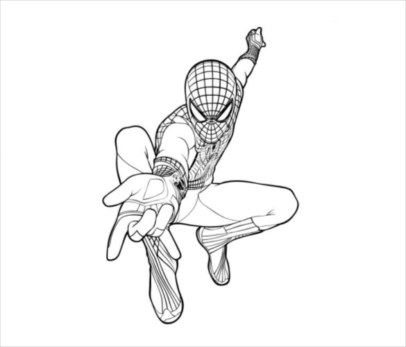 Spider Man Homecoming Coloring Pages