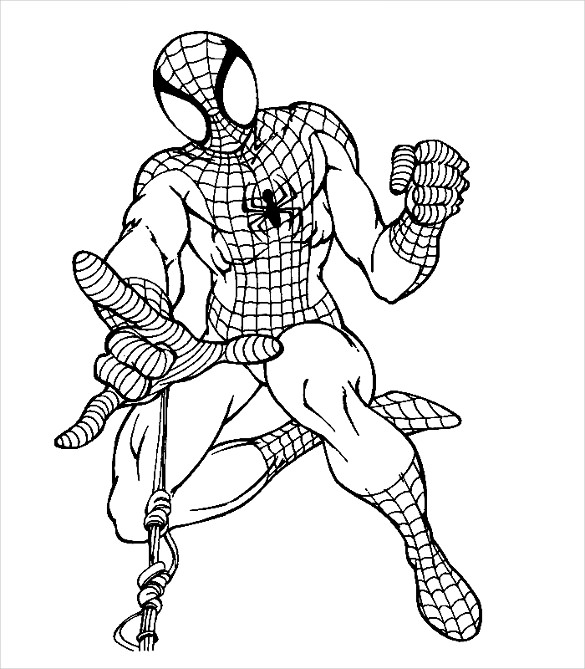 Spider Man Homecoming Coloring Pages At Getdrawings Com Free For
