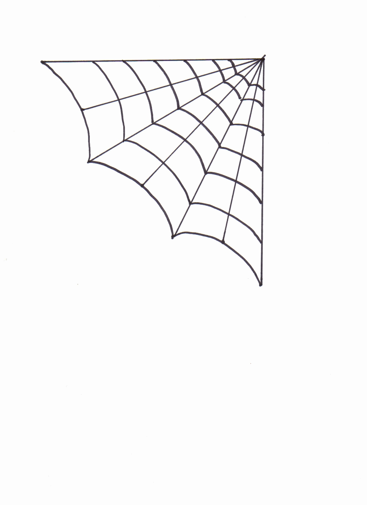 1275x1754 Spider Web Coloring Pages Elegant Spider Web Drawing