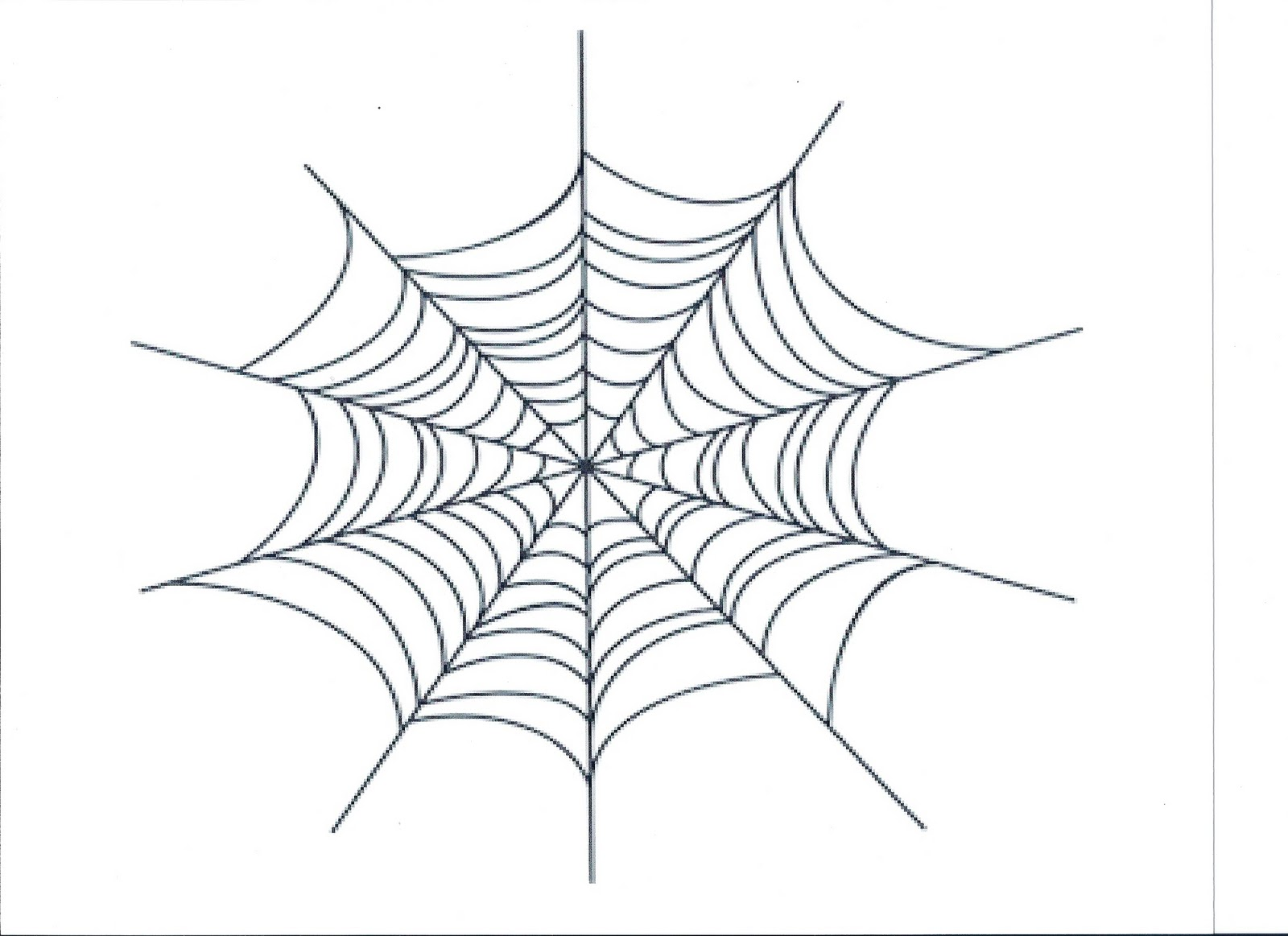 1600x1163 Just Arrived Spider Web Coloring Page In Drawi